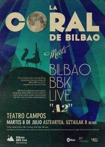 La Coral de Bilbao y el Festival BBK Live crean su pequeño Océano Azul