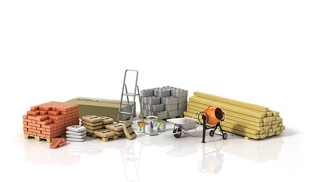 Prescripción materiales de construcción