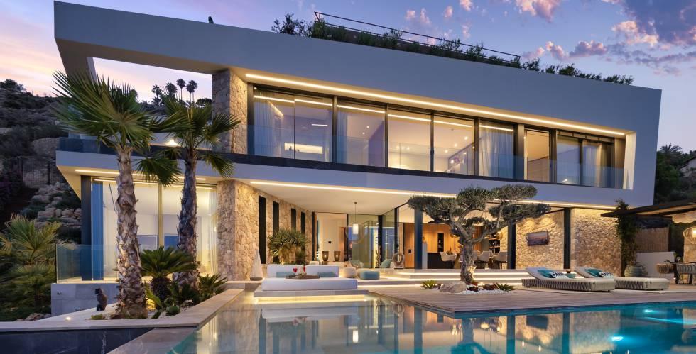 Previsión de zonas de crecimiento de viviendas de alto standing en España